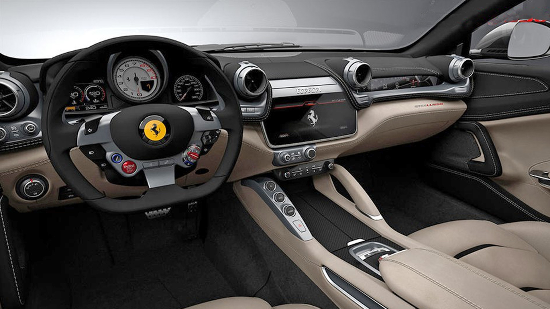 Car Dash Wallpaper Ferrari Gtc4lusso 2017 Price Mileage Reviews