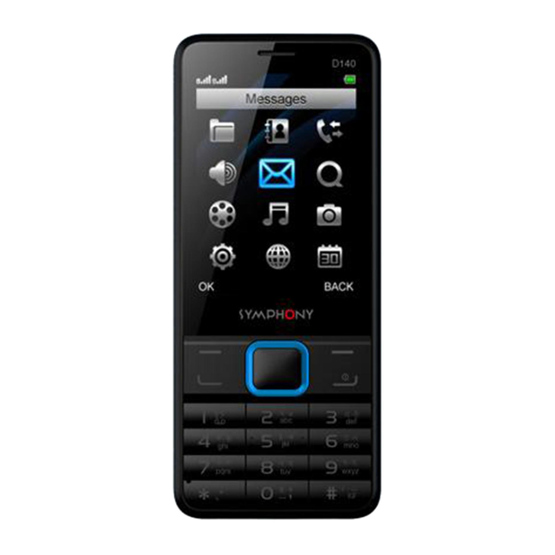 Online Shop Möbel Symphony Featured Phone D140 Black
