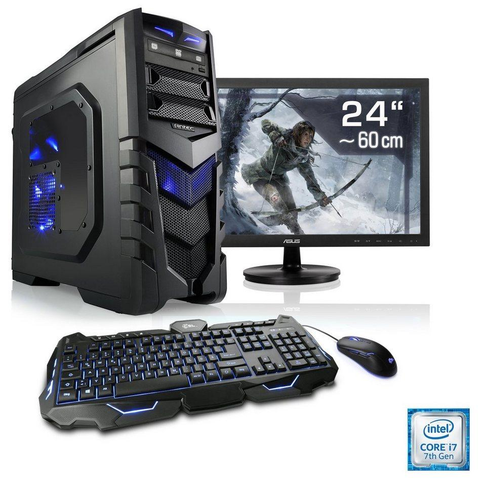 Diy Airco Intel Core I7 Gaming Pc 8gb Ram 2000gb Hdd With 22