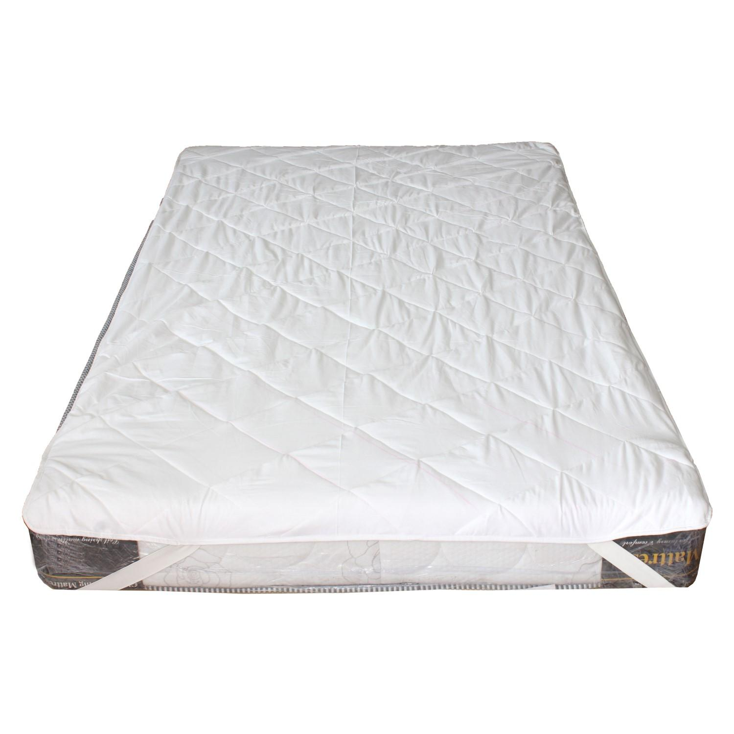 Double Bed Mattress Cover White Waterproof Mattress Protector Double Bed