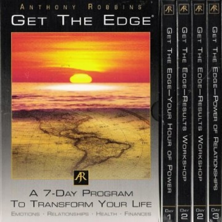 Listen Anthony Robbins - Get the edge - iVoox - tony robbins disc