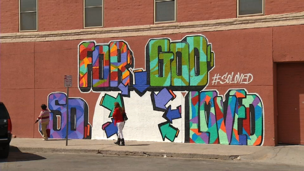 Fox Carpe Interactive Mural Completed In Downtown El Paso Has Spot