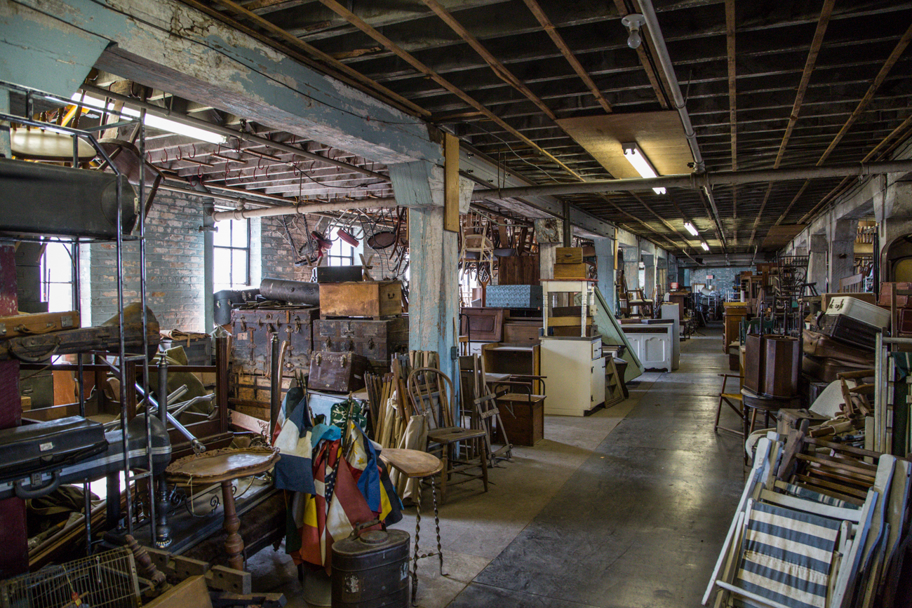 This Local Antique Warehouse Was Once Featured On The - American Warehouse