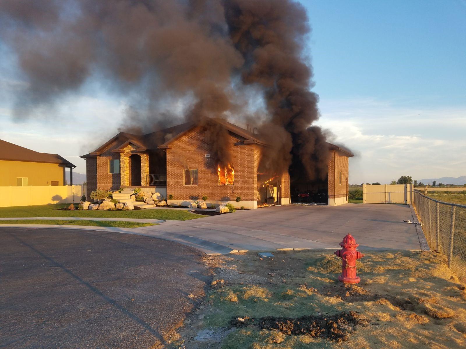 Breaking House Fire In Weber County Kutv