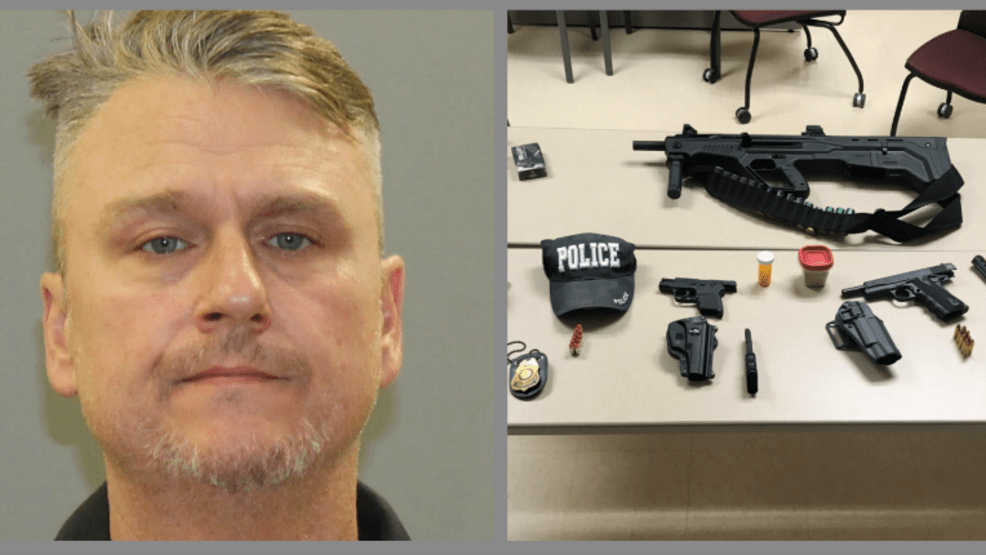 Alleged Md Cop Impersonator Arrested By Real Officer