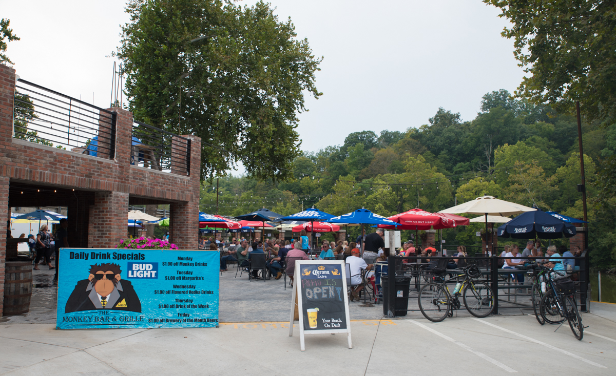 Monkey Bar This Maineville Eatery On The Loveland Bike Trail Isn T Monkeying
