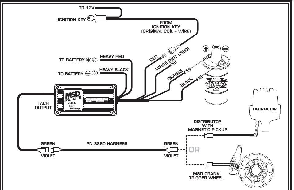 Tc 7809 Blaster Coil Wiring Diagram Schematic Wiring - msd blaster 2 wiring diagram