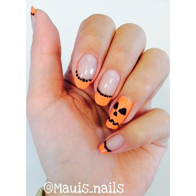 Easy Halloween Nails You Can Actually Do At Home StyleCaster