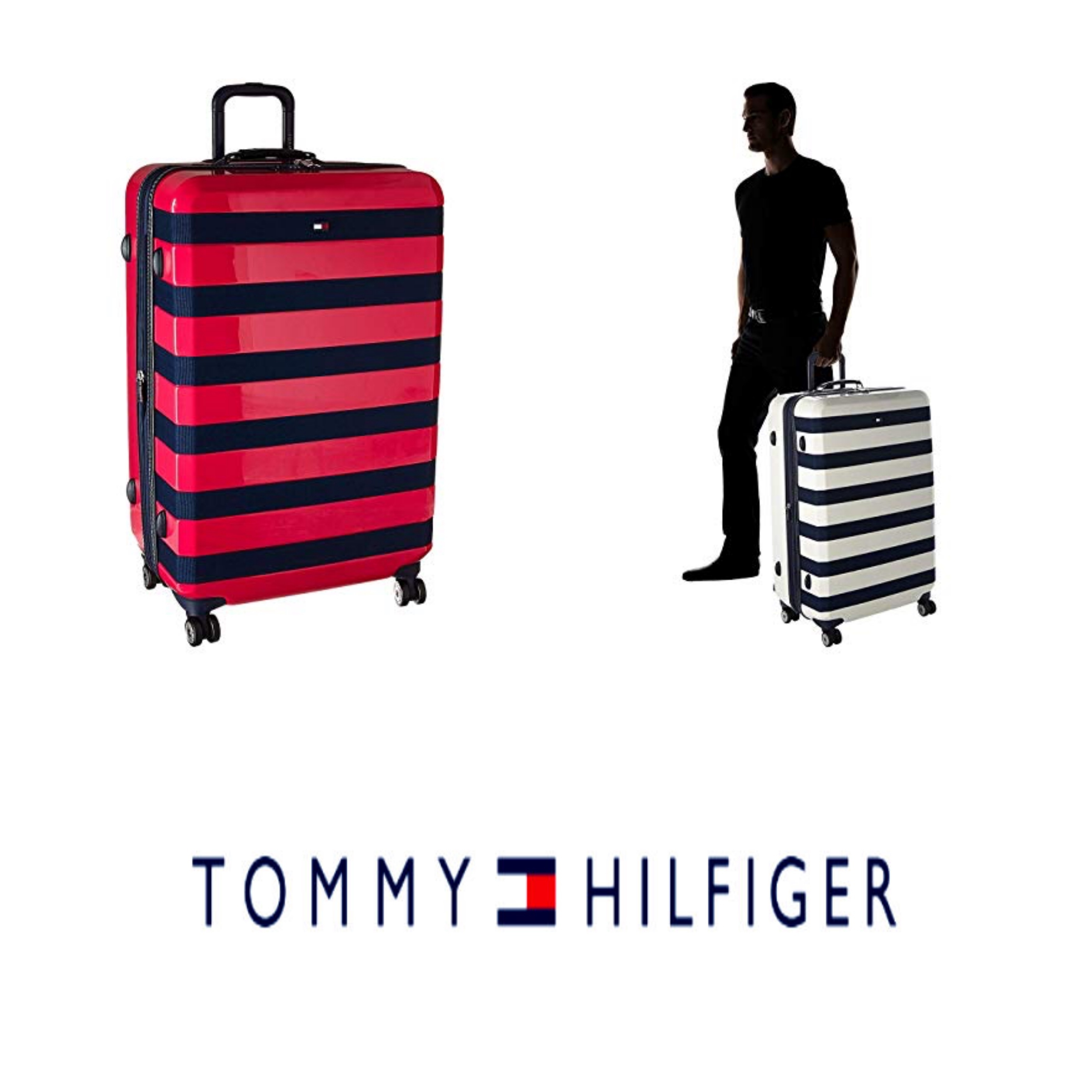 2018 Travel Bags Tommy Hilfiger 2018 19aw Unisex Hard Type Luggage Travel Bags 9127745
