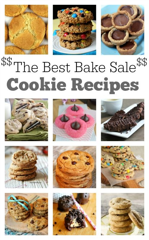 12 Best Bake Sale Cookie Recipes