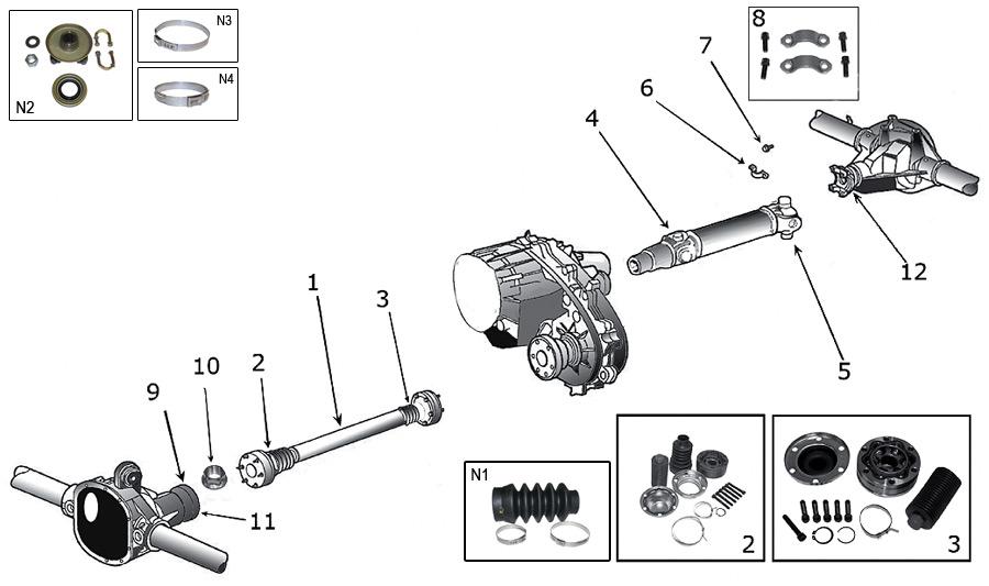 jeep starter auto parts diagrams