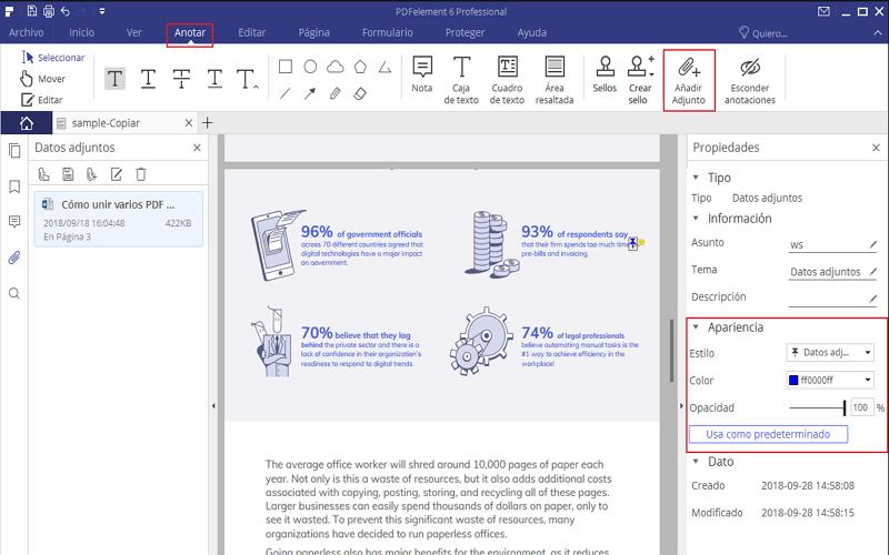 Cómo Insertar un PDF en un Documento de Word Gratis