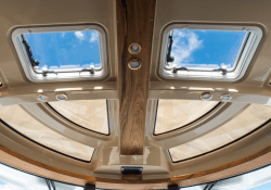 Despite its size, the Ranger 29 never feels small, largely in thanks to the high supply of bright light throughout.