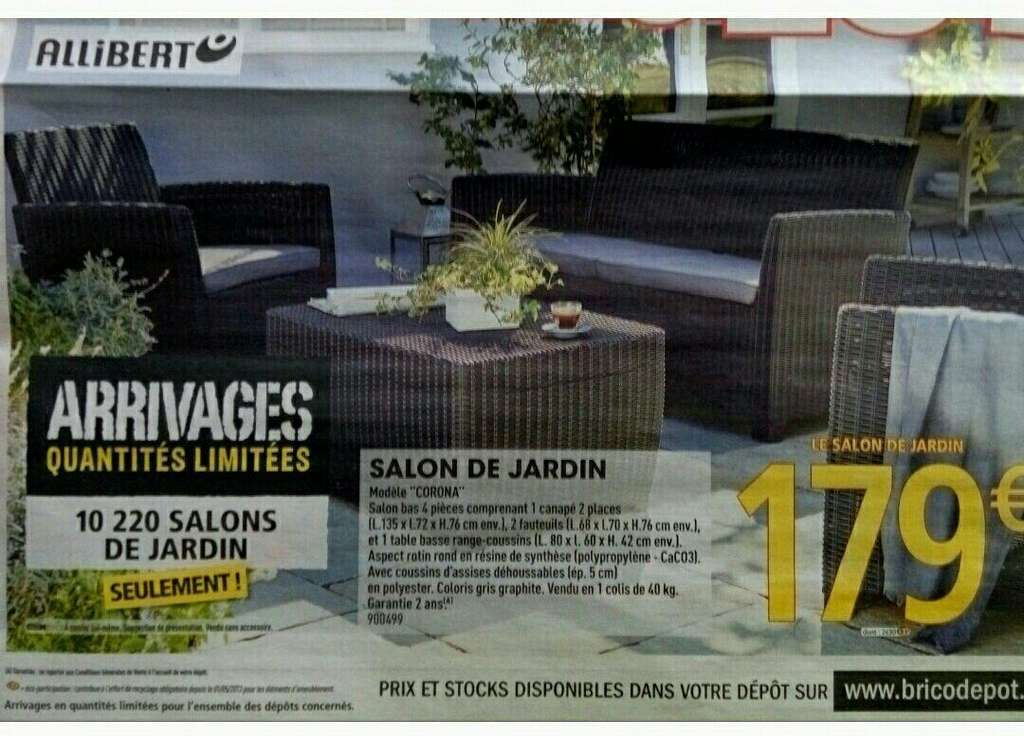 Brico Salon De Jardin Salon De Jardin – Dealabs.com