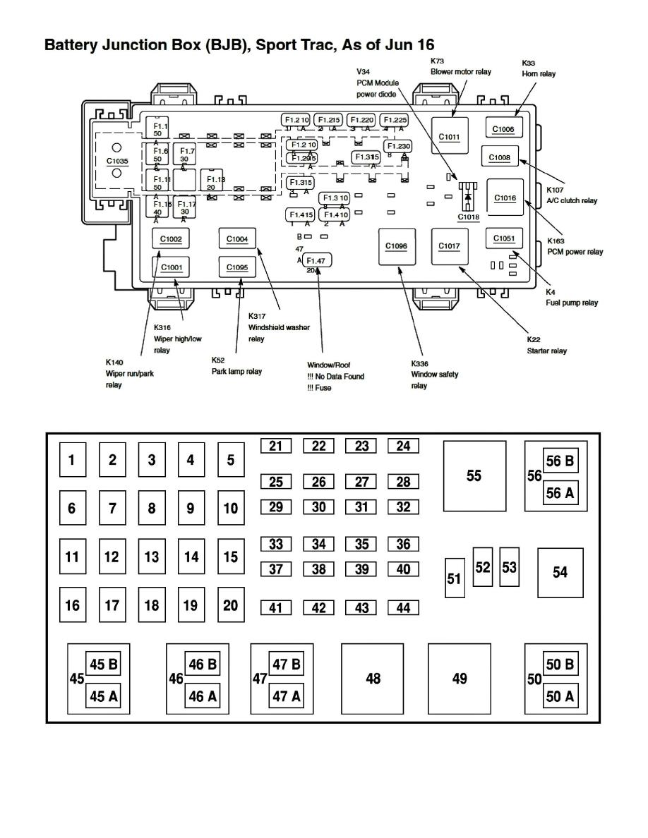 2003 Ford Focus Fuse Panel Diagram. focus fuse box diagram