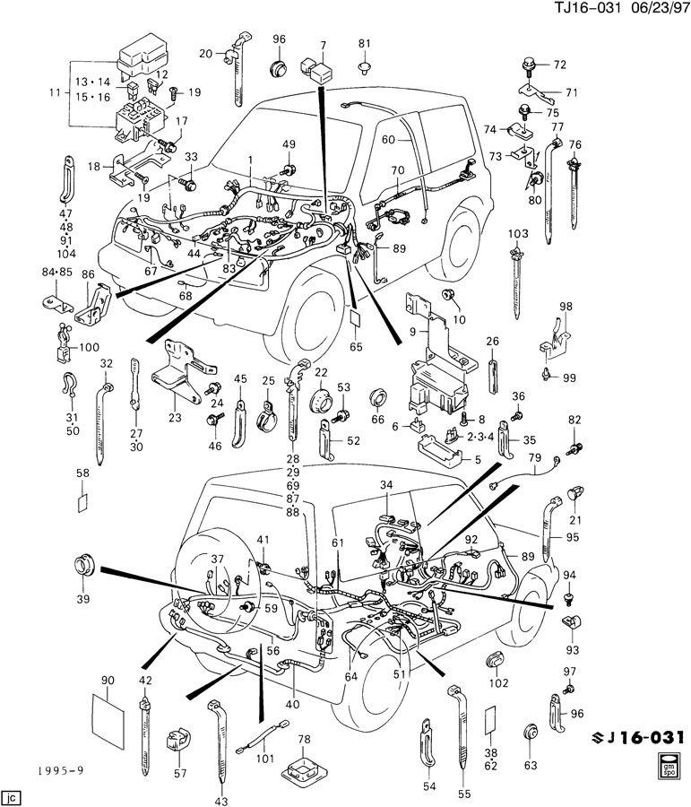 cucv wiring schematic
