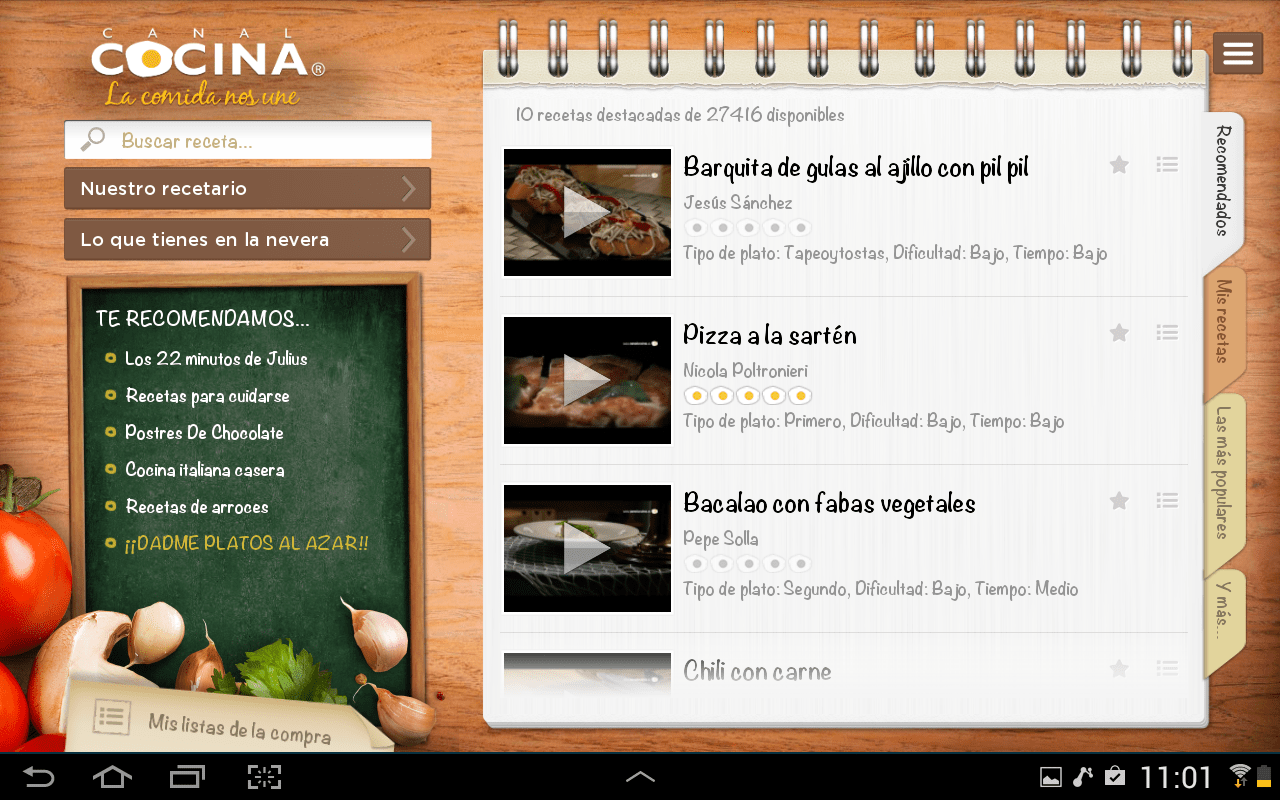 App Cocina Canal Cocina Hd App Ranking And Store Data App Annie