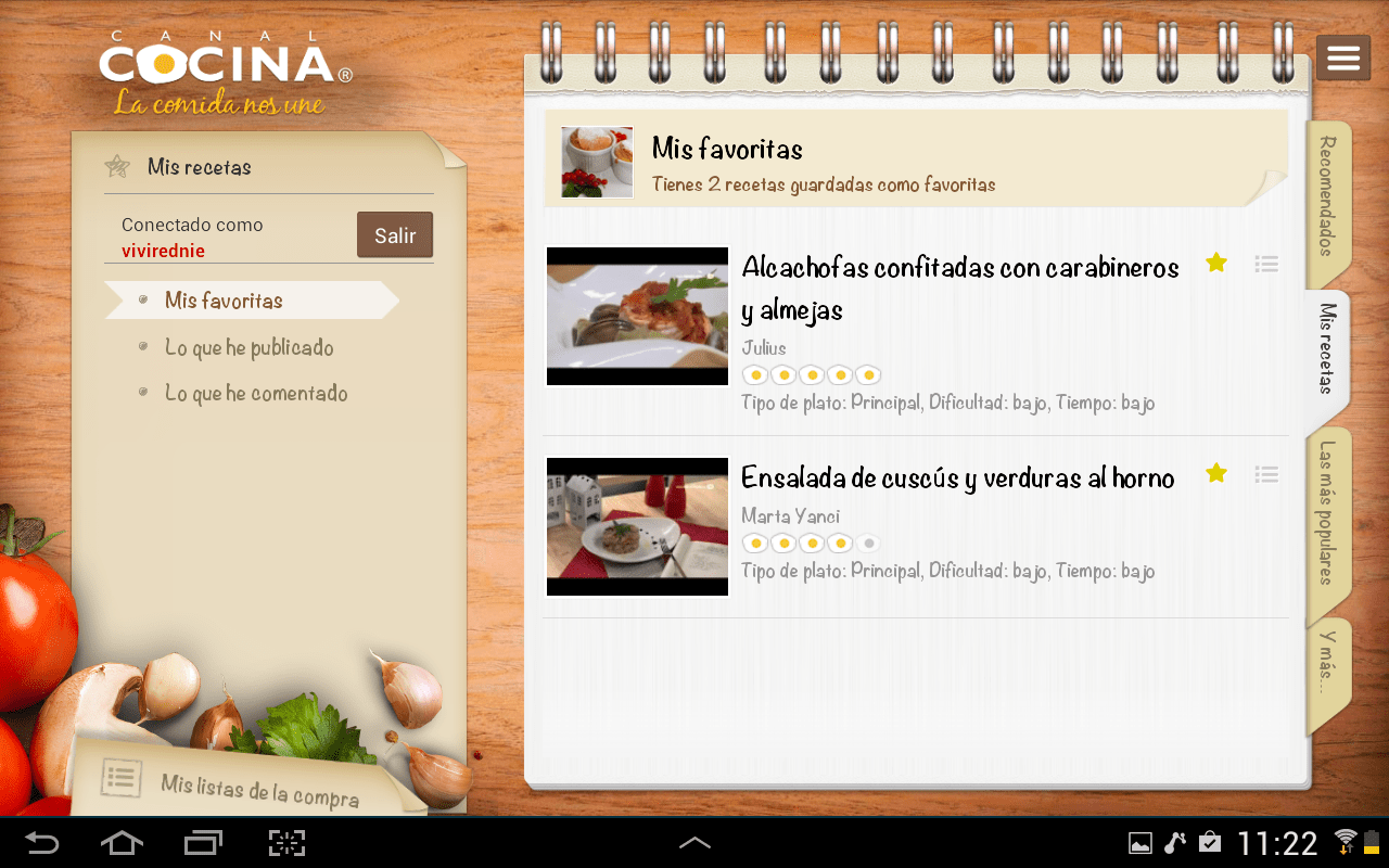 App Canal Cocina Canal Cocina Hd App Ranking And Store Data App Annie