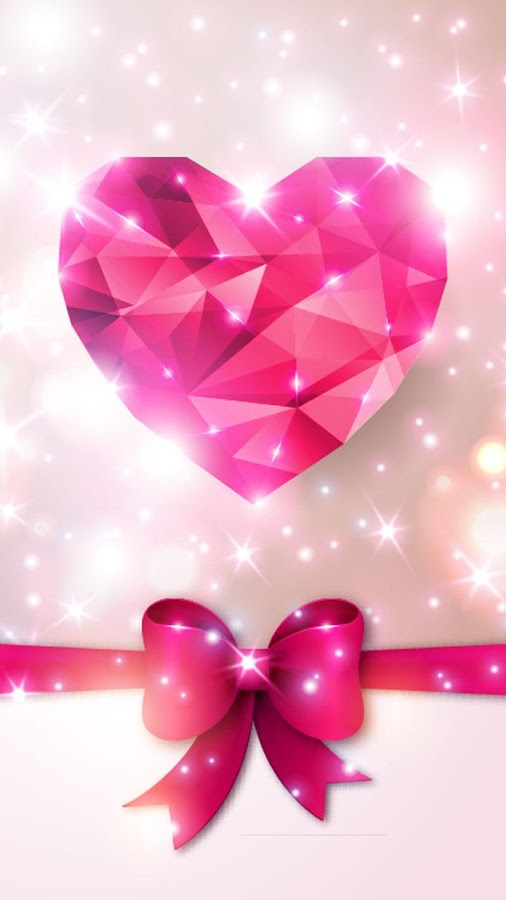 Zedge 3d Moving And Live Wallpapers Diamond Hearts Live Wallpaper App Ranking And Store Data