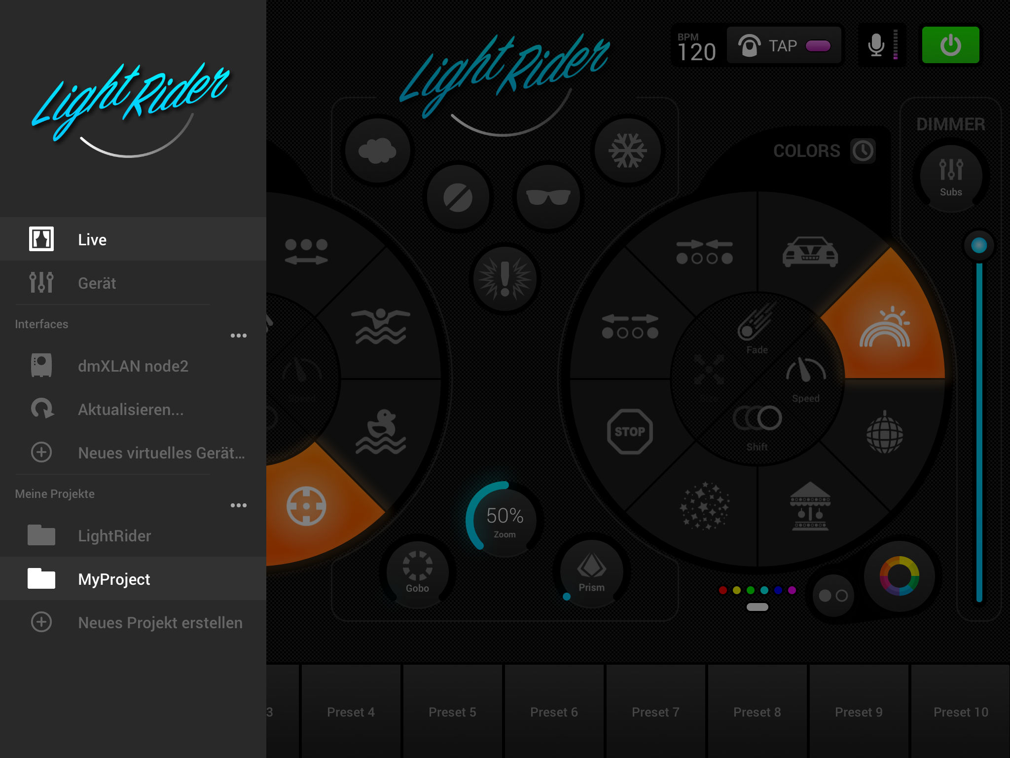 Wlan Dimmer Light Rider Dmx Light Control App Ranking And Store Data App Annie