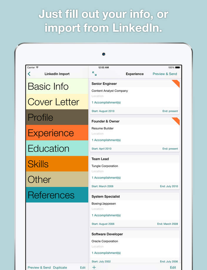 sample resume builder free resume builder app smart resume builder