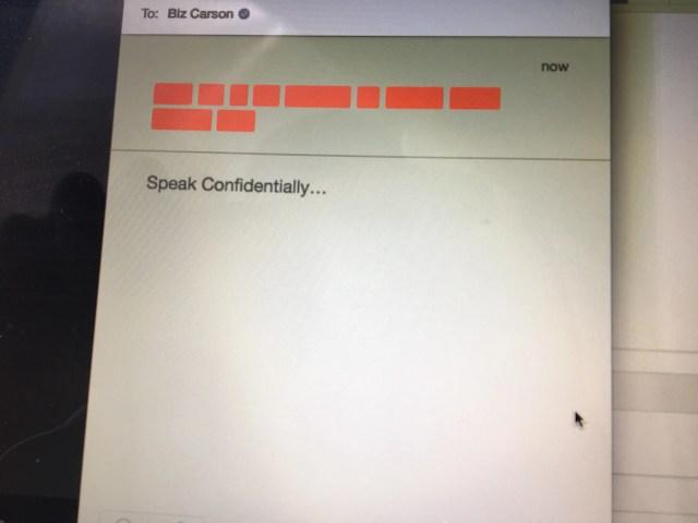 confide redacted