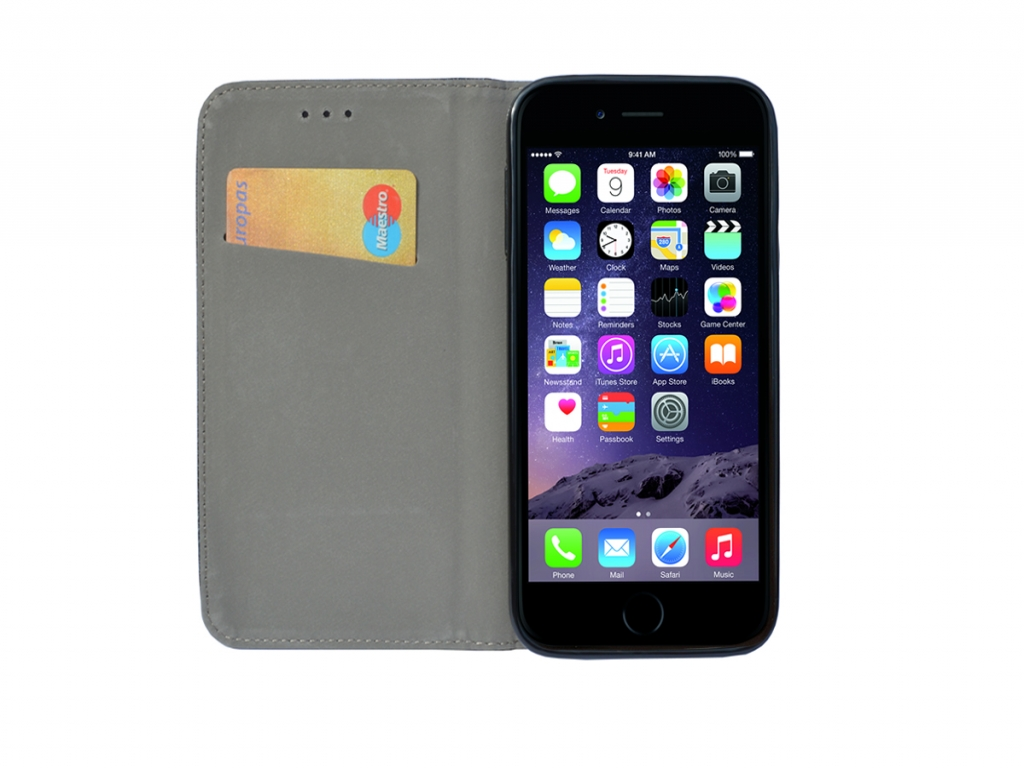 Iphone 7 Kopen Apple Iphone 7 Wallet Smart Case Zwart Met Stand Kopen