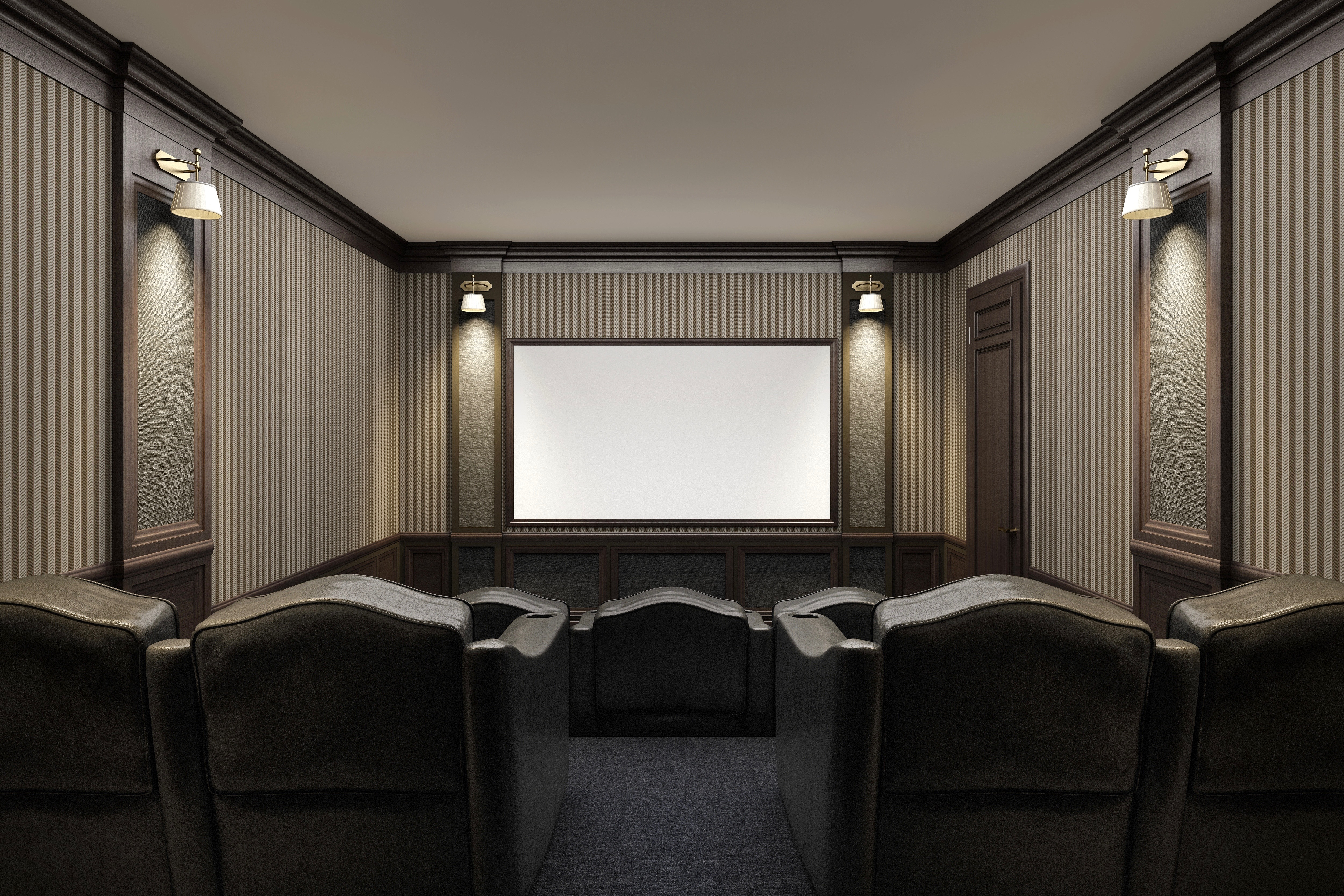 Home Theater Room The Pros And Cons Of A Home Theater And Game Room 55places