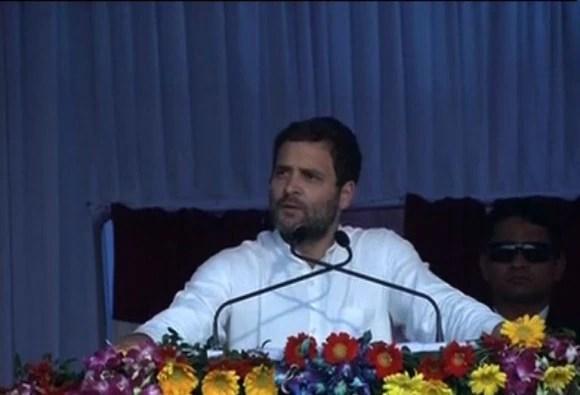 देशभक्ति मेरे खून में है हमें सर्टिफिकेट नहीं चाहिए: राहुल गांधी