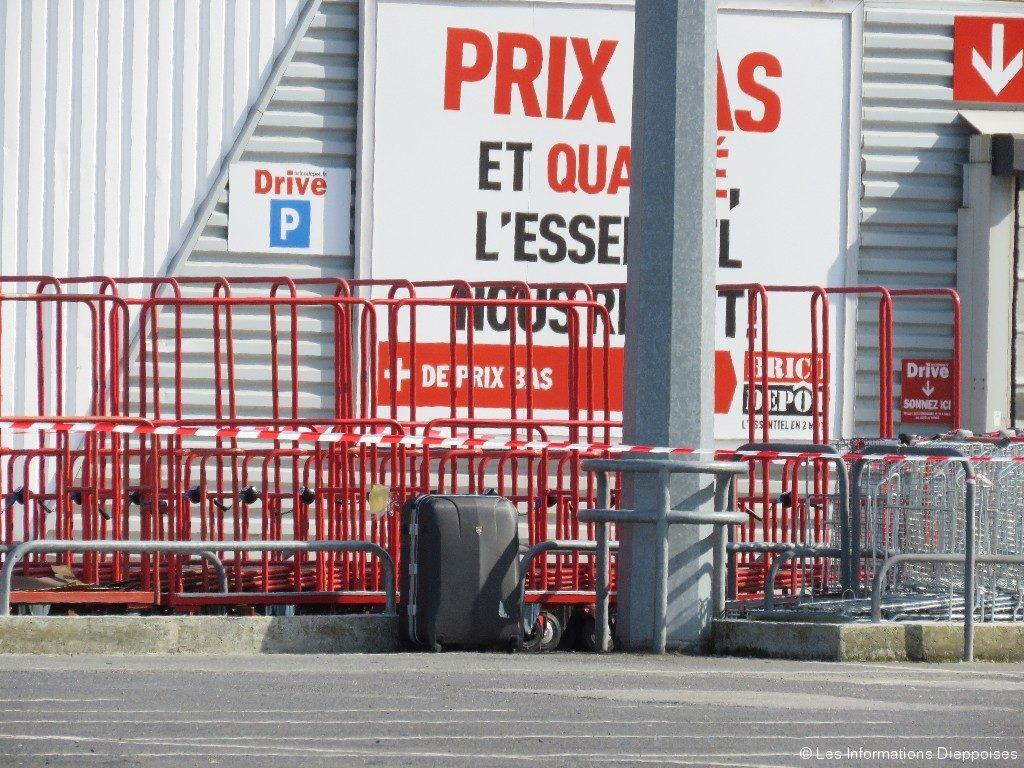 Porte D\'entrée Brico Depot Dieppe