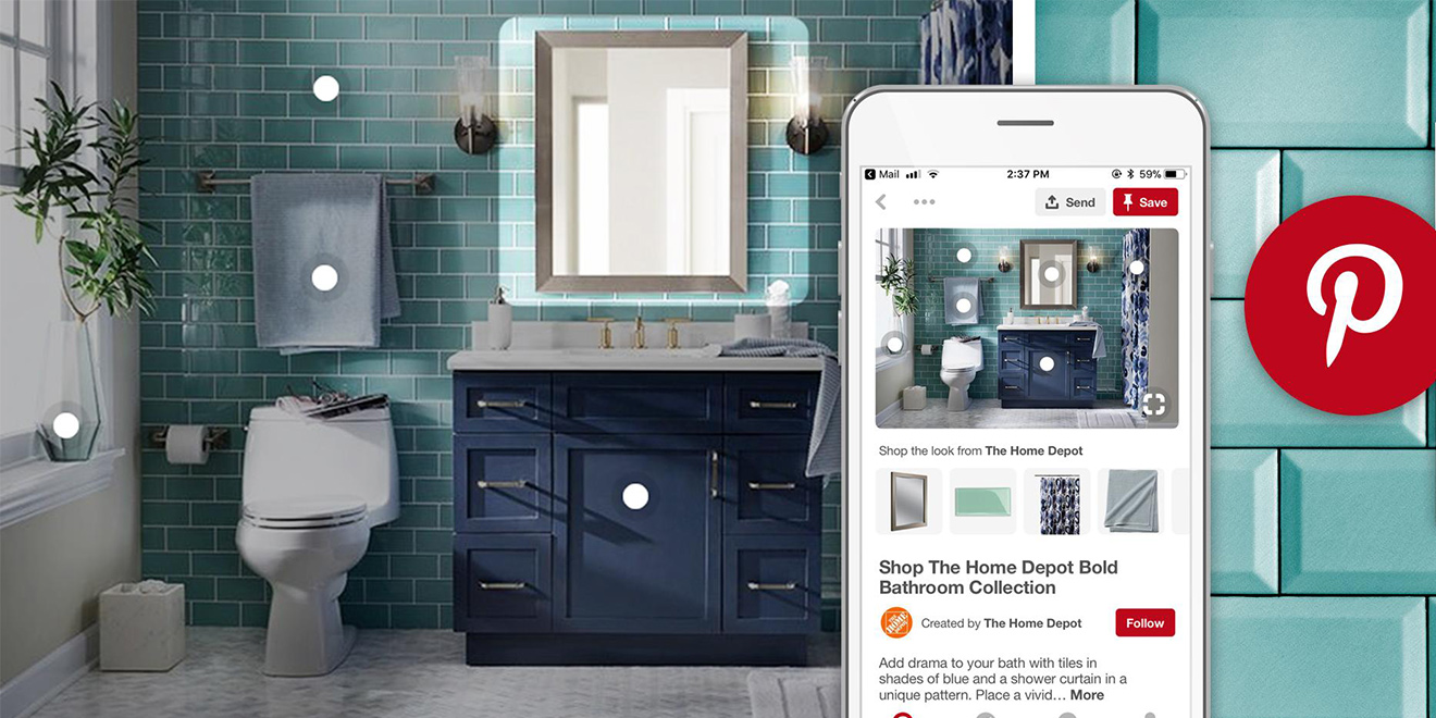Shop Home Home Depot Is Building Out Visual Discovery And Shopping On
