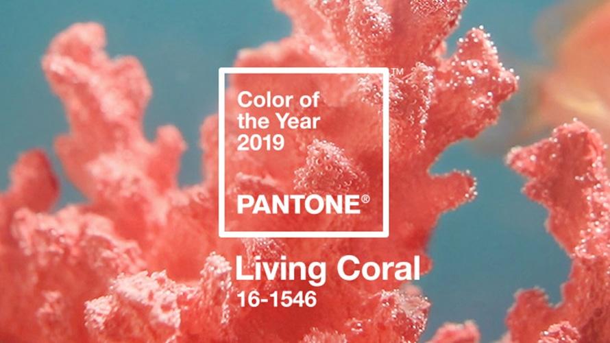 Living Coral Is Pantone\u0027s 2019 Color of the Year \u2013 Adweek
