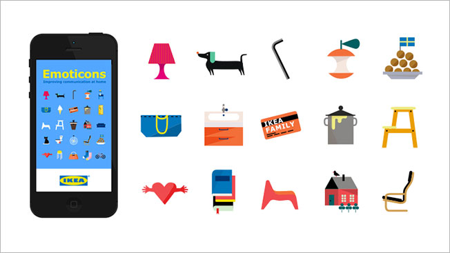 Ikea Develops Its Own Emojis, for When You Need to Text About - emoji story copy and paste