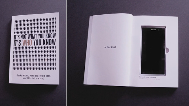 Agency Poaches Talent by Mailing Out Books With a Phone Hidden