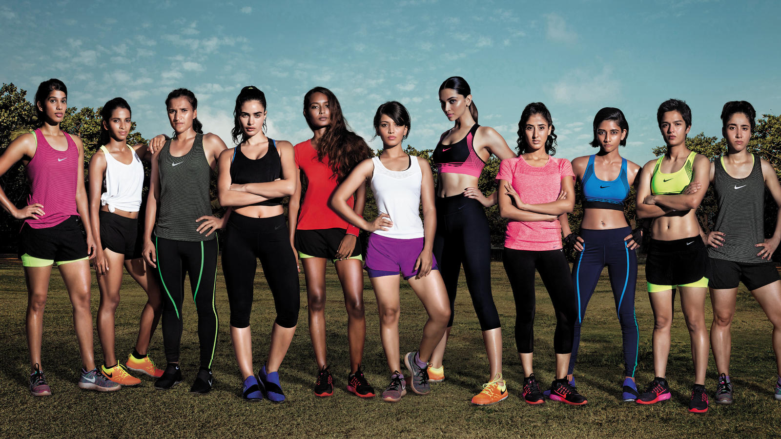 Girls Shoes Wallpaper Ad Of The Day W K India S First Nike Ad Celebrates The