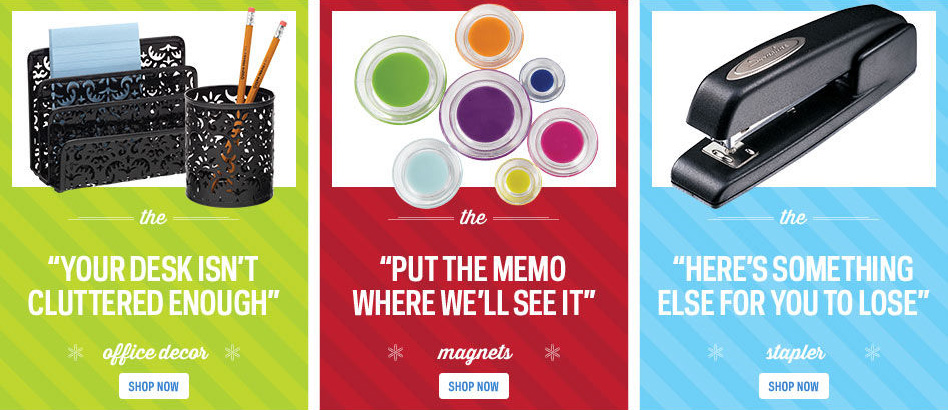 Ad of the Day Office Depot Has Comically Snarky Little Holiday