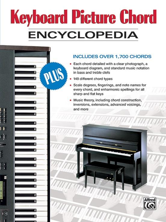 Keyboard Picture Chord Encyclopedia Keyboard/Piano Book