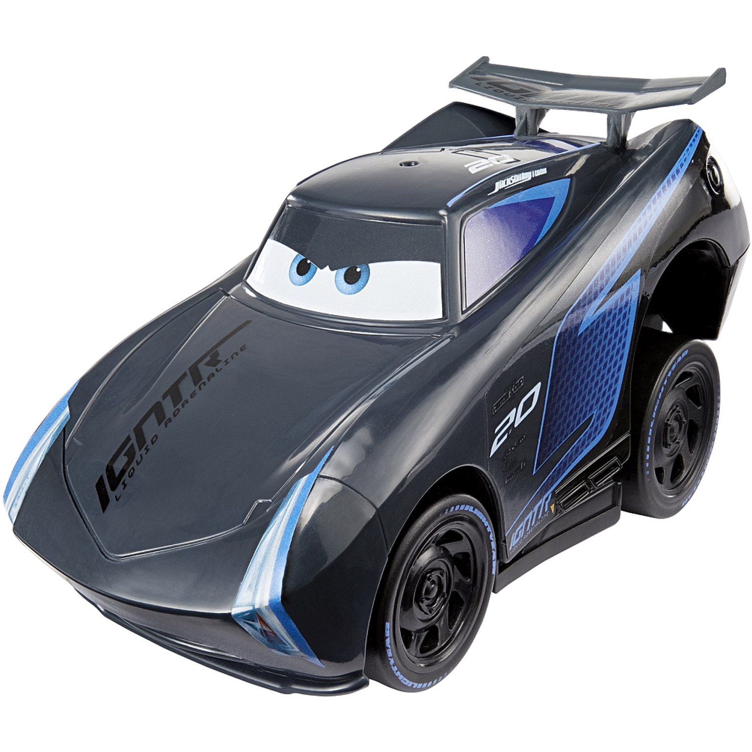Cars 3 Jackson Storm Jouet Voiture Press Go Cars 3 Jackson Storm