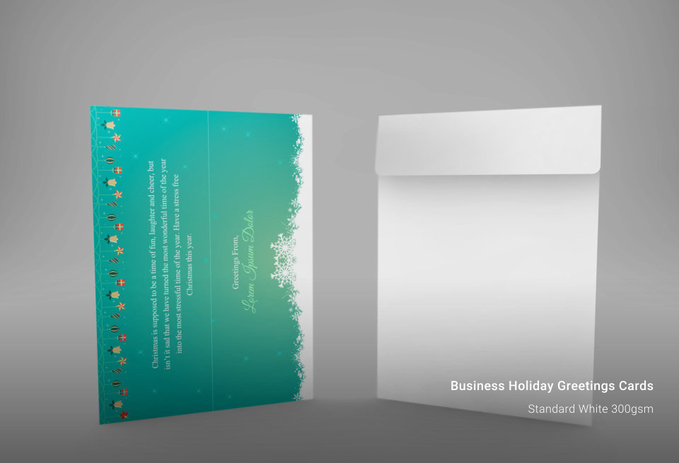 Business Holiday Greeting Cards New York Business Cards