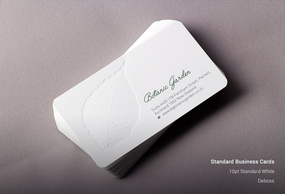 Standard Business Cards New York Business Cards AllStickerPrinting