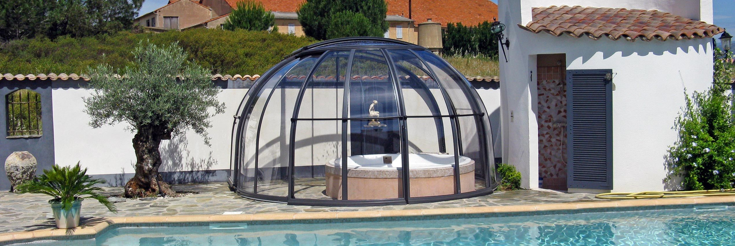 Hottub In De Tuin Axess I Spa Overkappingen Axess Europe