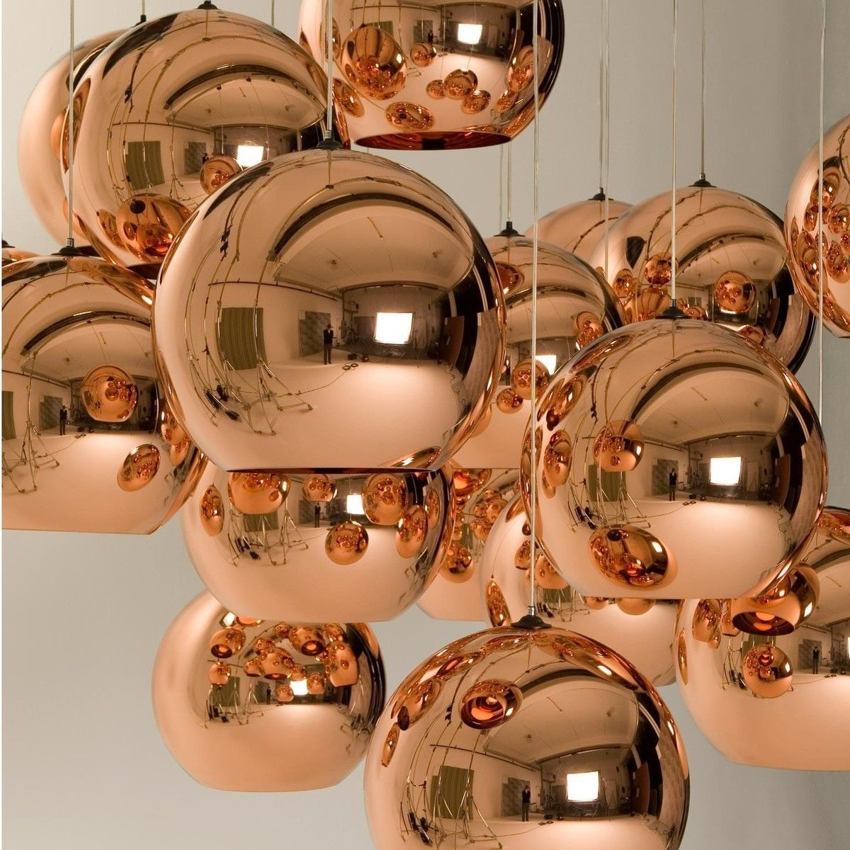 Leuchte Küche Copper Shade Pendelleuchte Tom Dixon Ambientedirect
