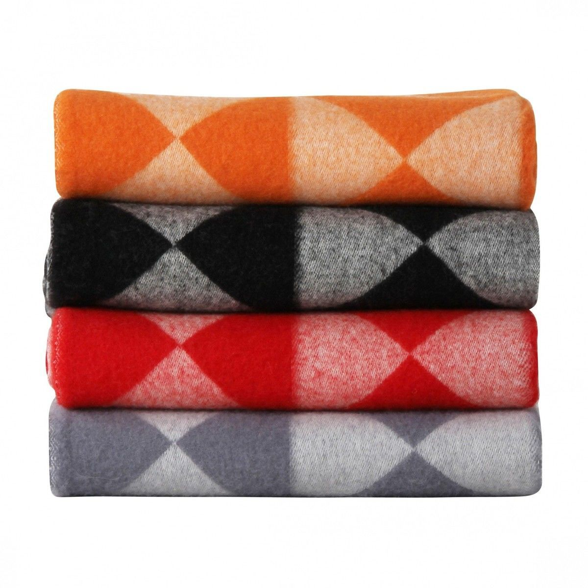 Plaid Tagesdecke Mirror Throw Plaid Panton Tagesdecke Verpan