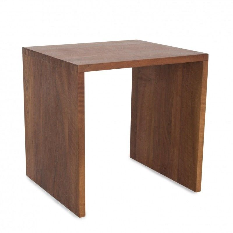Designer Couchtisch Outlet Cubus Hocker Holz | Jan Kurtz | Ambientedirect.com