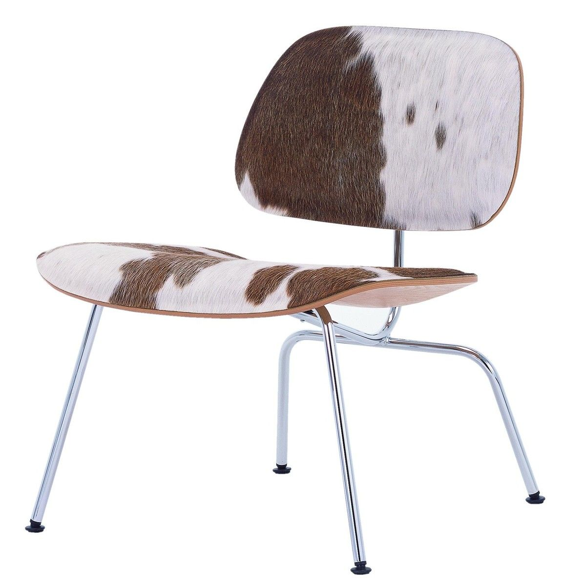 Eames Stuhl Weiß Lcm Eames Stuhl Kuhfell Vitra Ambientedirect