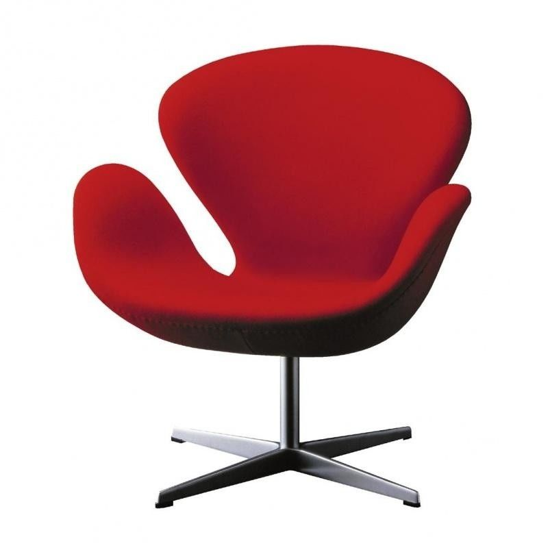 Sessel Leder Outlet Swan Chair Sessel Stoff | Fritz Hansen | Ambientedirect.com