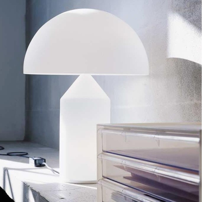 Hay Lamp Atollo - Lampe De Table | Oluce | Ambientedirect.com