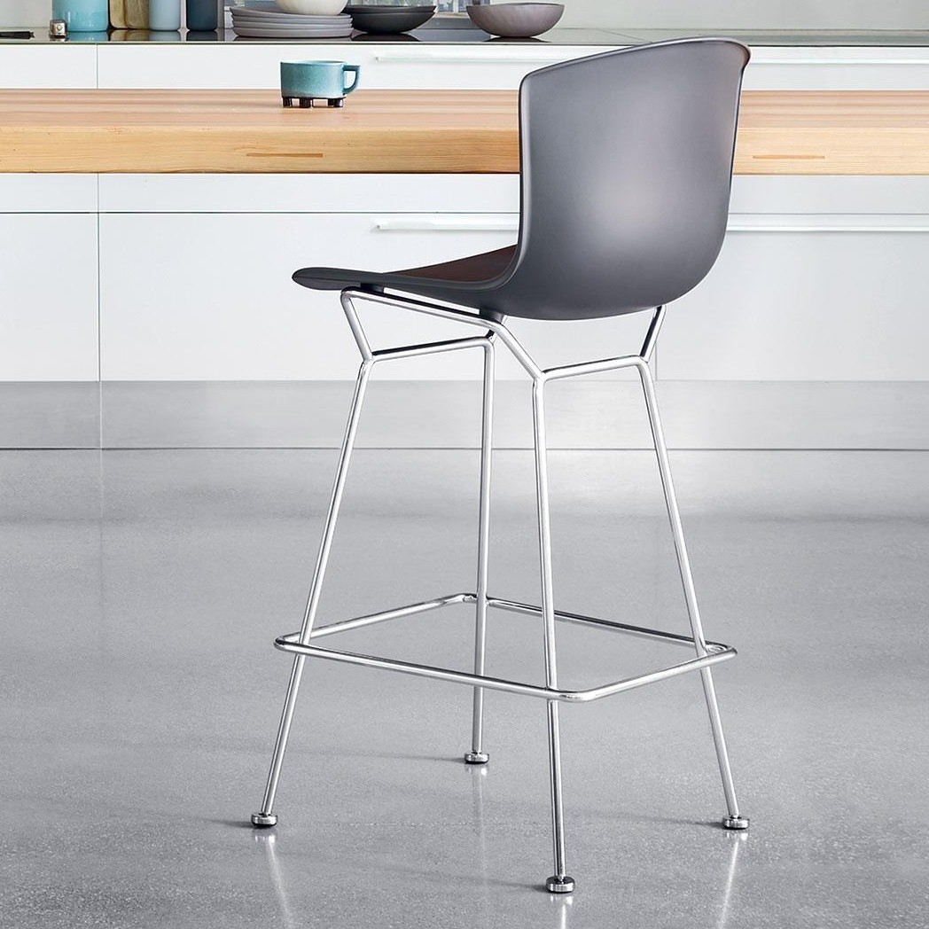 Tabourets De Bar Polycarbonate Bertoia Plastic Tabouret De Bar Knoll International