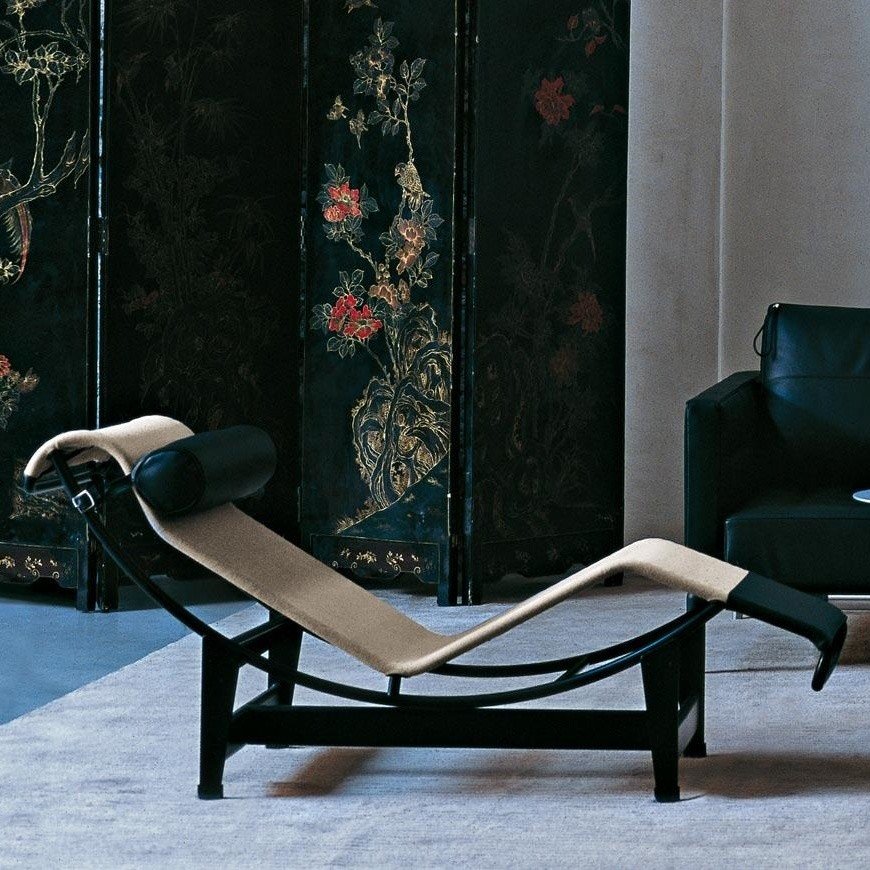 Charles Eames Replica Chair Le Corbusier Lc4 - Chaise-longue Style Lounge | Cassina