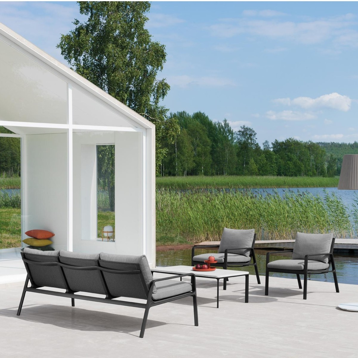 Lifestyle Sessel Park Life Club Sessel Kettal Ambientedirect